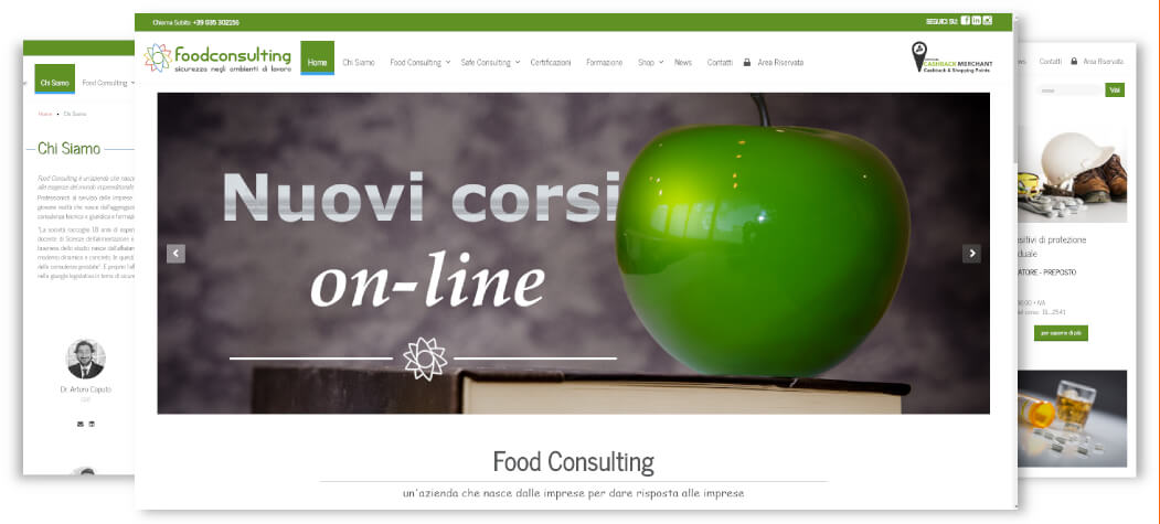Sito -Food Consulting - Gorle BG